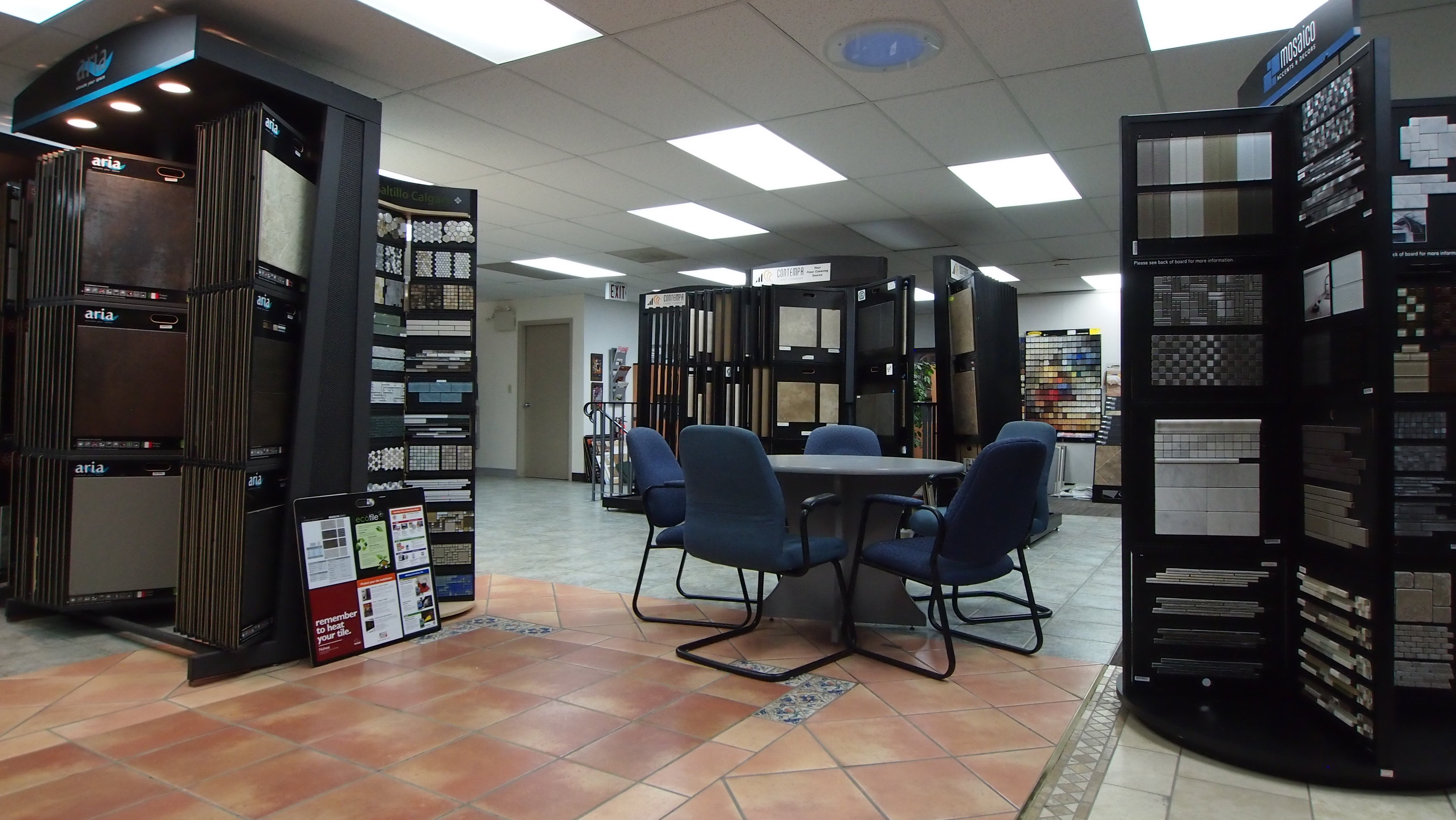 Showroom Upstairs: Tile Design Area