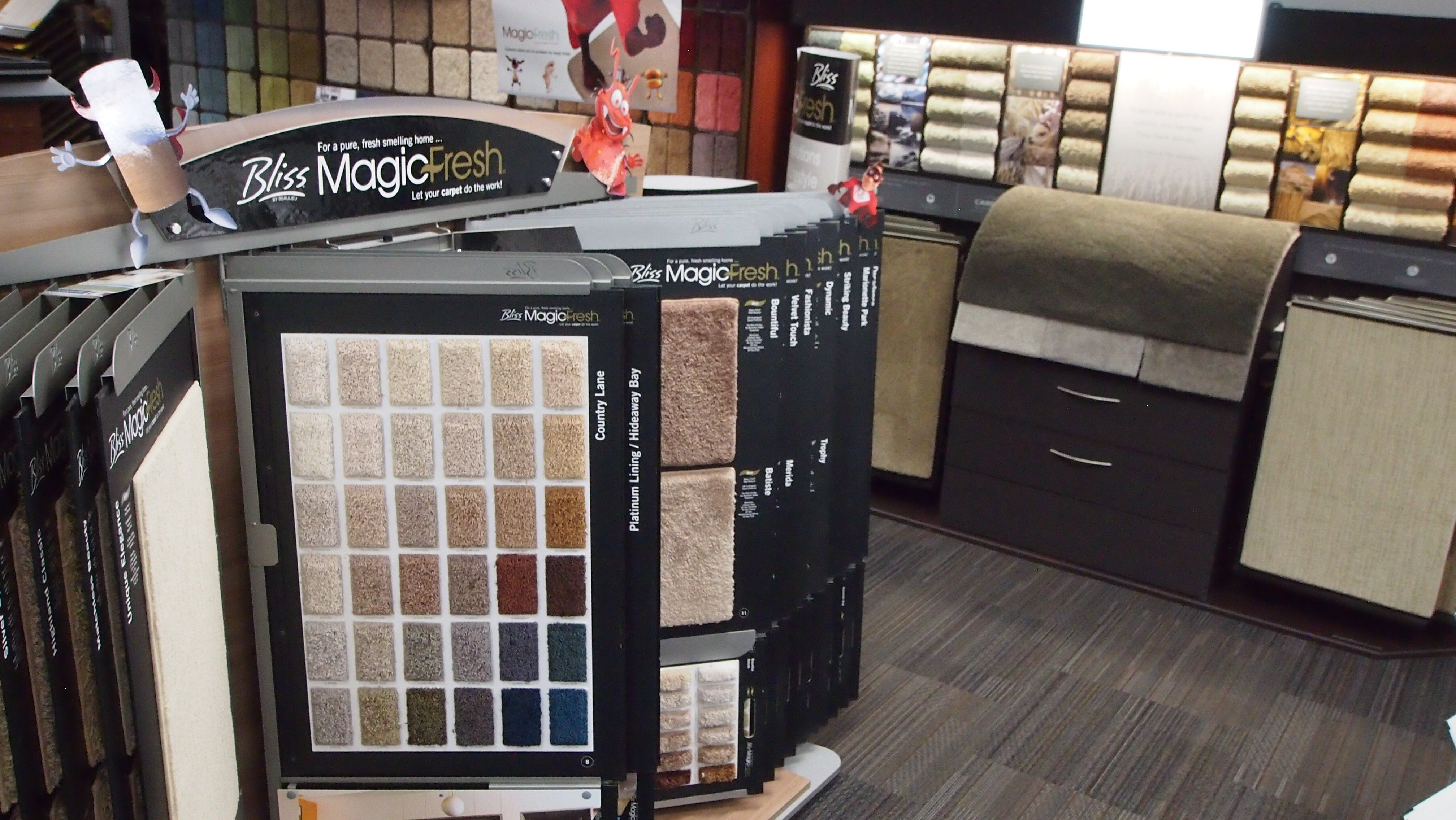 Showroom: Bliss MagicFresh Carpet