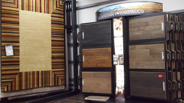 Showroom: Laurentian Hardwood / Area Rugs